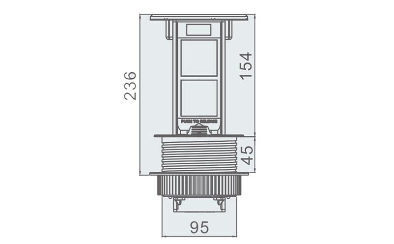 桌面插座规格型号