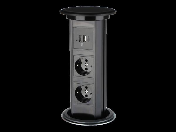 SMP-1B电动桌面插座