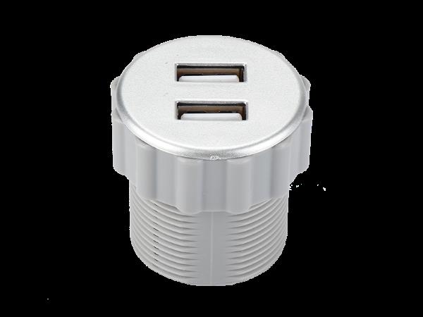 JY-USB-RC白色桌面插座