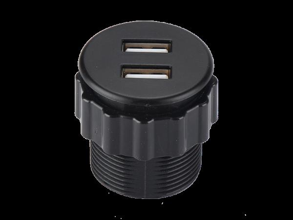 JY-USB-RC黑色桌面插座