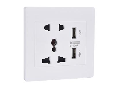 SHC-USB-101弱电插座