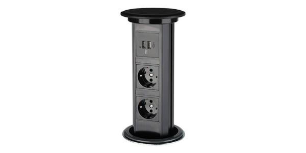 自动升降桌面插座