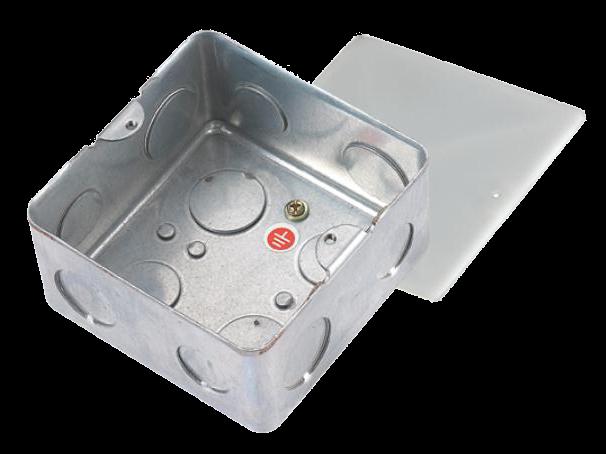 B100钢底盒