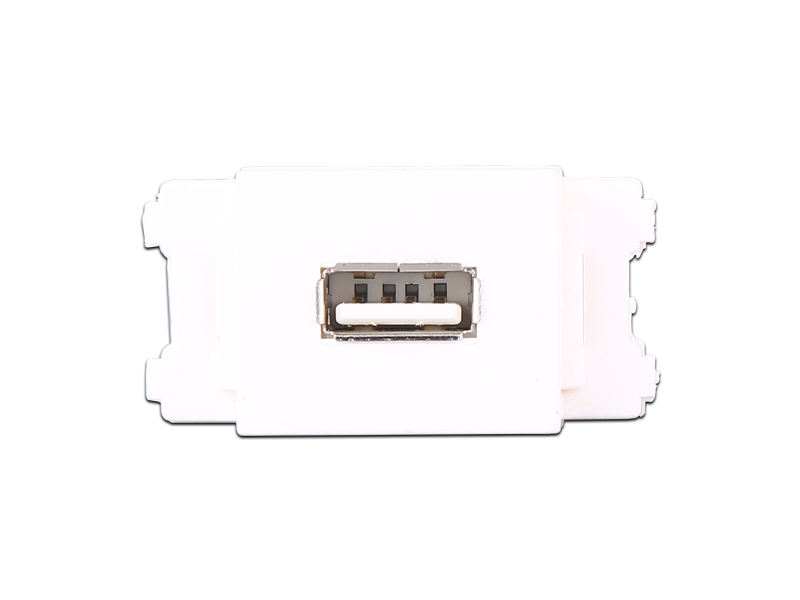 USB插座双头【A24】