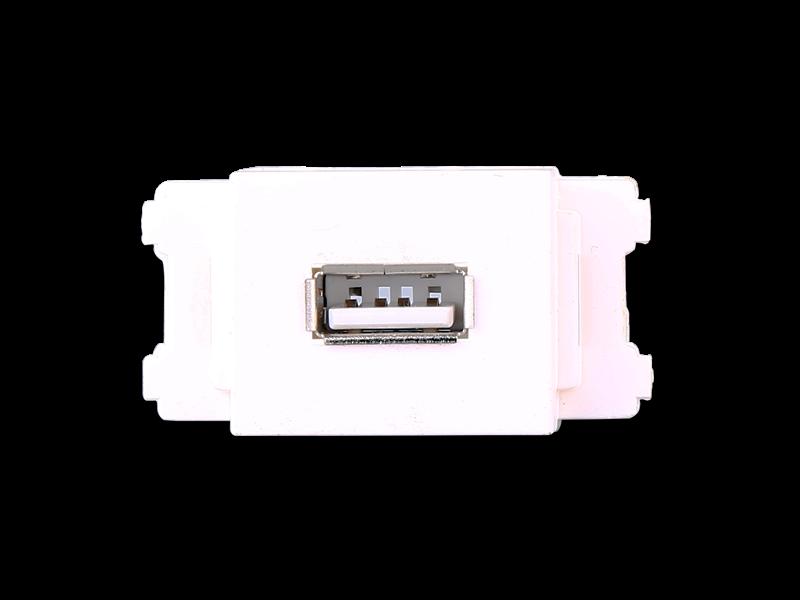 USB插座单头【A23】