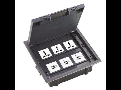 SCF-245P会议室隐藏式插座