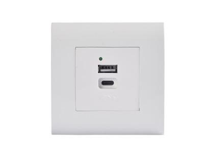 SHC-USB-17E-A-C弱电插座